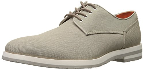 Ck Jeans Men's Adrian Waxy Canvas Oxford Shoe - Clay - 8 ...