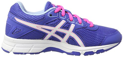 Asics Gel-Galaxy 9 Gs, Zapatillas de Gimnasia Unisex Niños Morado (Blue Purple / White / Airy Blue)