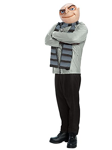 Rubie's Men's Despicable Me 2 Size Gru Costume, Multi-Colored, Plus ()