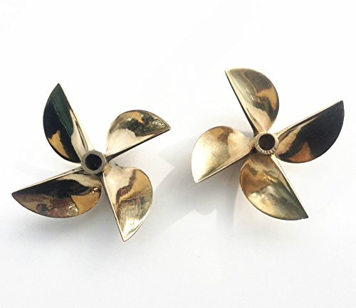 1Pair Propellers 26cc Brass Prop 6717 1/4