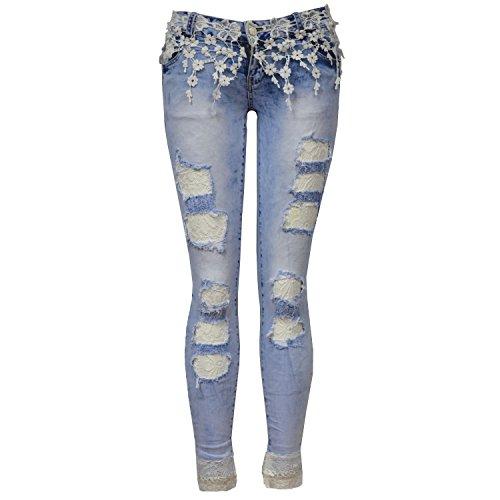 Jeans Divadames Divadames Donna Jeans blue Fc6320 TEw7BqxOw