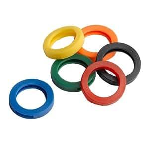 Plástico Clave Identificadores Colores Surtidos 120 Pc / S