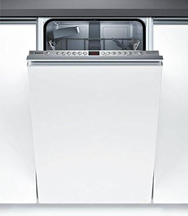 Bosch Serie 4 SPV46IX07E Totalmente integrado 9cubiertos A++ lavavajilla - Lavavajillas (Totalmente integrado, Slimline (45 cm), Botones, LED, 1,75 m, ...