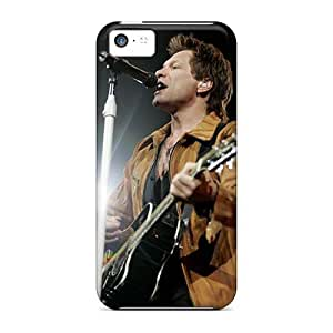 Best Cell-phone Hard Cover For Iphone 5c (iya3146dqPt) Provide Private Custom HD Bon Jovi Band Pattern