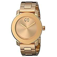 Movado Women's 3600085 Bold Gold-Tone Watch
