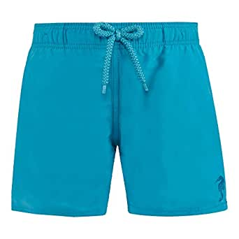 Vilebrequin - Boys Water-Reactive Swimtrunks Double Focus - Seychelles - 14YRS
