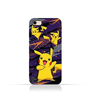 iPhone 8 TPU Silicone Protective Case with Pokemon Pikachu Design