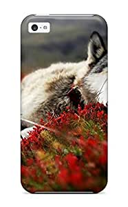 linJUN FENGHot New Wolf Sleeping Animals Case Cover For iphone 6 plus 5.5 inch With Perfect Design