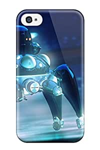 AGPnsez4121igrne Audrill Awesome Case Cover Compatible With Iphone 4/4s - Ghost In The Shell