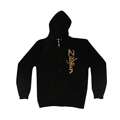(Zildjian Vertical Logo Zip Hoodie - XX Large )
