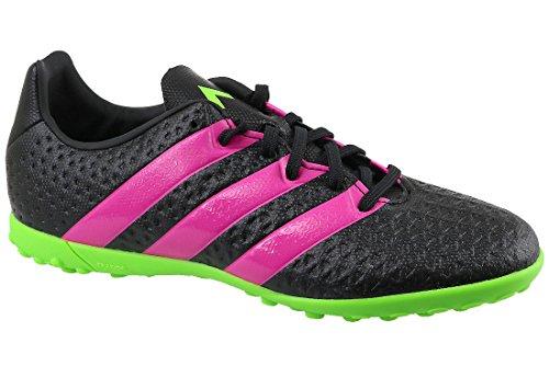 adidas Kids Boys Junior 16.4 Ace Football Astro Turf Boots Trainers Black Pink