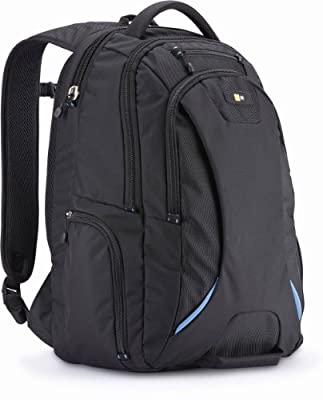 Case Logic BEBP-115 15.6-Inch Laptop and Tablet Backpack, Black by Case Logic