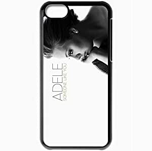 Personalized iPhone 5C Cell phone Case/Cover Skin Adele other Black