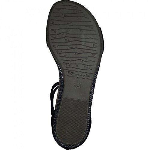 Tamaris 1-28139-20 Womens Sandals Schwarz kT7bruPBff