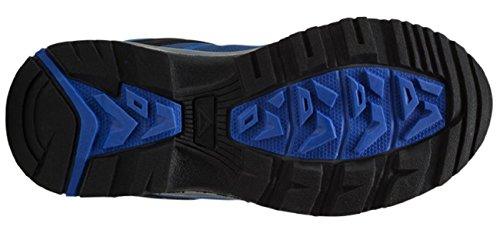 McKinley Zapatillas de Multi Softshell II Jr Negro/Gris, blue royal/grey, 34 blue royal/grey