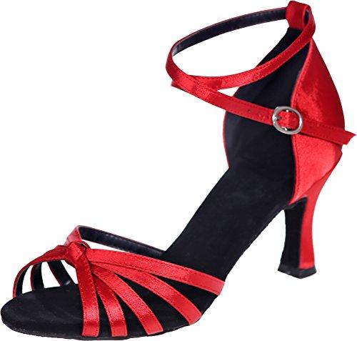 de Salon Red CFP Danse femme Rouge 5EAFWWHqP