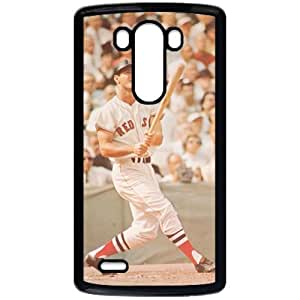 MLB&LG G3 Black Boston Red Sox Gift Holiday Christmas Gifts cell phone cases clear phone cases protectivefashion cell phone cases HMFN635585563