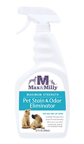 Animal Milly (MAX & MILLY Pet Stain Odor Eliminator, 32 oz)