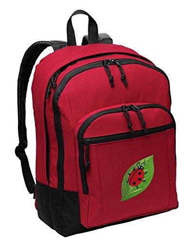- Ladybug Backpack MEDIUM CLASSIC Style With Laptop Sleeve