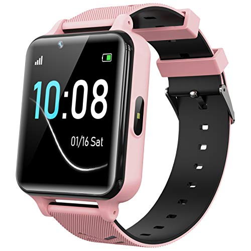 Kids Smartwatch for Boys Girls – Smart Watch for Kids Watches for 4-12 Years with 17 Puzzle Games Alarm Music Player…