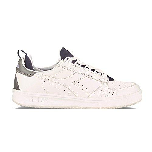 Diadora Heritage - B.Elite Socks Bianco/Blu Profondo - Sneakers Hombre