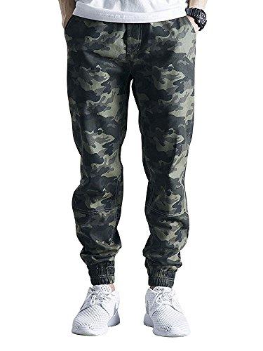 e3c1acd732 Match Men's Casual Wild Cargo Pants Outdoors Work Wear #6062(29,Dark ...