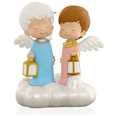 This Little Light of Mine, Let It Shine Mary's Angels Musical Ornament 2015 Hallmark