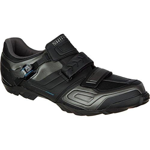 Shimano SH-M089 Cycling Shoe - Wide - Men's Black, 45.0