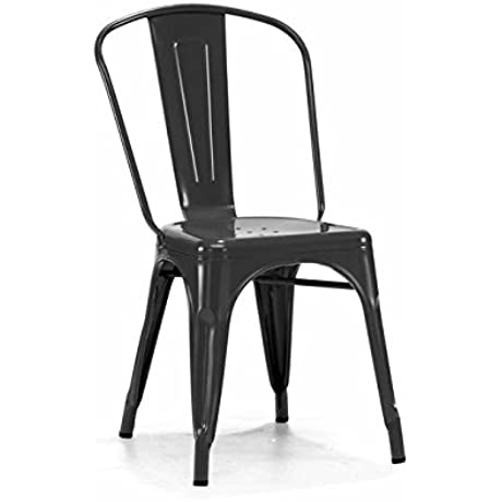Steel Side Chair Set Of 4