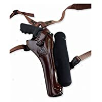 Galco Kodiak Hunter Shoulder Holster (Dark Havana Brown), 8 3/8-Inch S&W N FR .44 Model 29/629, Right Hand