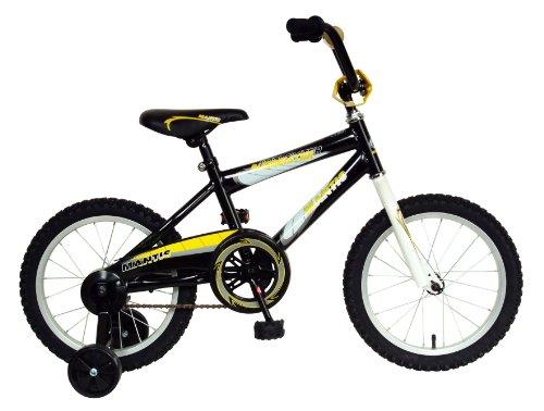 Mantis Burmeister Kids Bike, 16 inch Wheels, 10.5 inch Frame, Boy's Bike, Black
