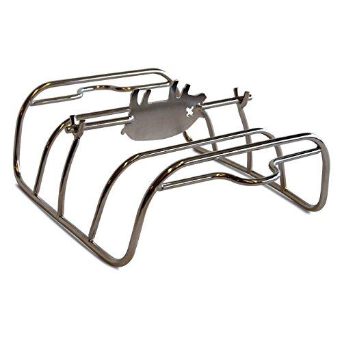 PK Grills PK99060 Stainless Steel Rib Rack