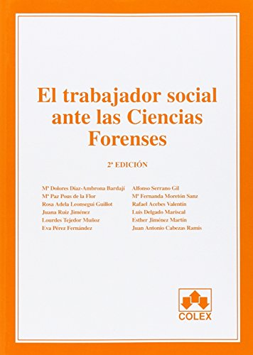 Descargar Libro Trabajador Social Ante Las Ciencias Forenses, El. Aa.vv.
