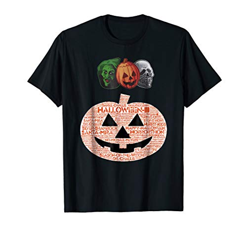 Halloween III Masks and Pumpkin -