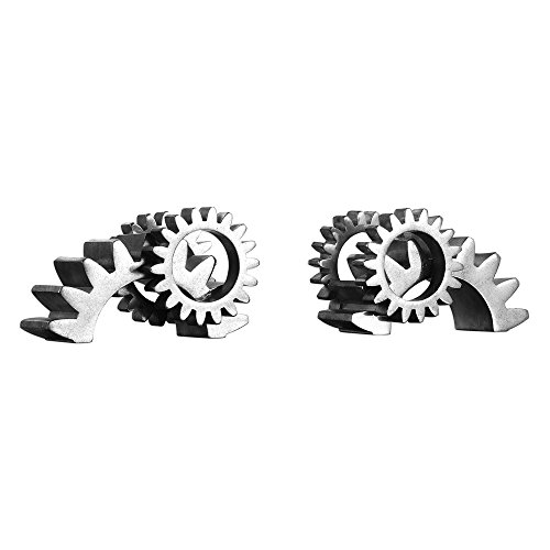 Uttermost Gears Bookends - Set of 2