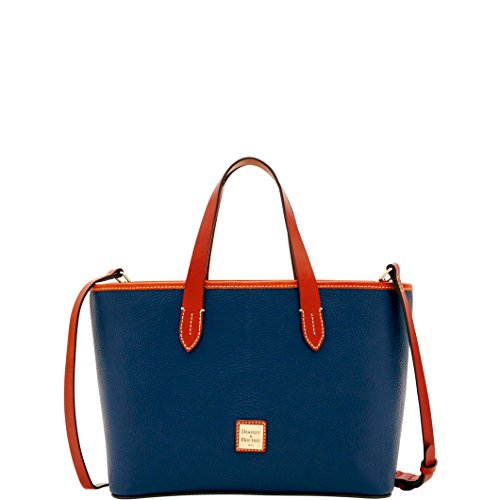 Dooney & Bourke Pebble Grain Brandy Tote (Midnight Blue)