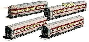 60' Streamline Passenger Cars - 4