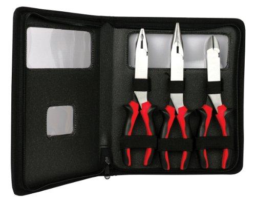 Ampro T19246 Long Reach High Leverage Pliers Set, 3-Piece