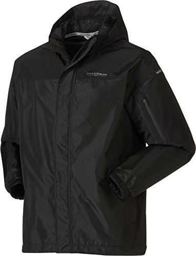 (Field & Stream Men's 2017 Squall Defender Rain Jacket (Pure Black, XL))