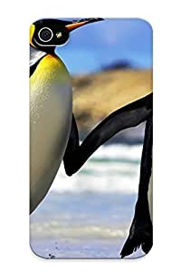 Hugetree Perfect Penguins Couple Case Cover Skin With Appearance For Iphone 4/4s Phone Case