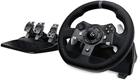 Logitech G920 Driving Force Race Wheel for PC + Xbox (Wheel Only)