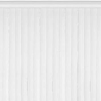 Holz tapete weiß  E022501-6 Foto-Tapete Vlies-Wandbild getäfelte Holz-Paneele weiß ...