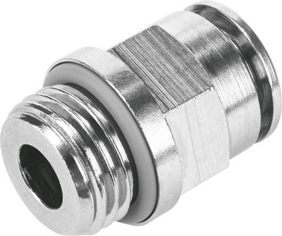 FESTO 578334 NPQH-D-M5-Q4-P10 PUSH-IN FITTING - SUPPLIED IN PACK OF 10