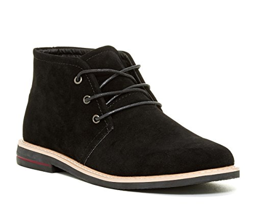 [Giraldi Danny-1 Men's Chukka Boots, Black, 12] (Mens Boots For Sale)