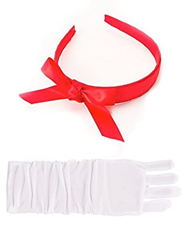 Little Adventures Princess Headpiece & Glove Accessory Sets - One-Size (3+ Yrs)