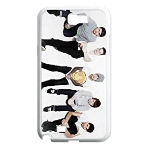 Samsung Galaxy N2 7100 Cell Phone Case Covers White Bring Me the Horizon Y1044480