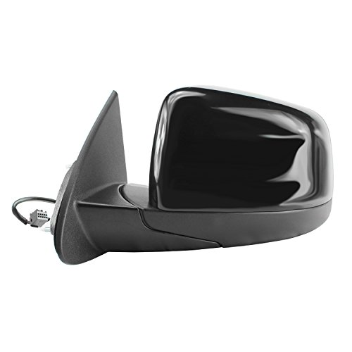 Fit System 60190C Dodge Durango Driver Side Textured Black Heated Power Replacement Mirror with PTM Cover