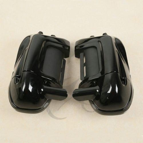 TCMT Speaker Box Pods Lower Vented Fairings Set For Harley Touring Models 1983-2013