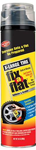 Fix-A-Flat S60169 Aerosol Tire Inflator with Hose for X-Large Tires - 24 oz. ()