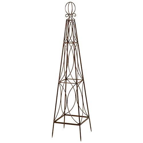 Deer Park Ironworks Tower Topiary, Medium